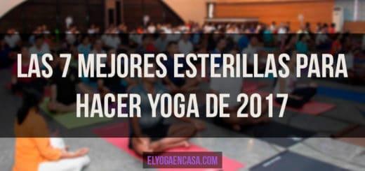 Mejores Esterillas Yoga