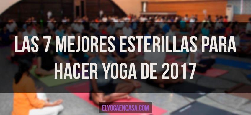 Las 7 mejores esterillas para hacer yoga de 2018 - Inicio yoga en casa ...